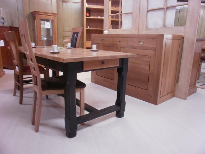 Table De Ferme Pieds Laque Maison Et Jouets 35 Magasin De